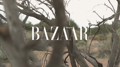 """Fashion - """"Call of the Wild"""" for Harper's Bazaar"""