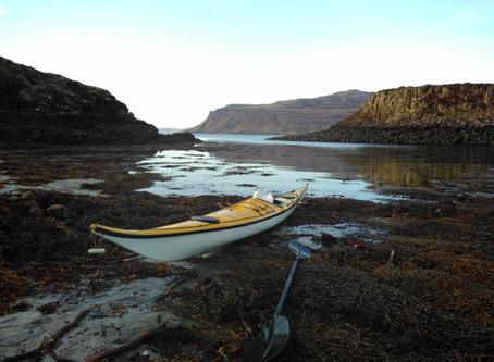 West coast sea kayaking: recommended dosage.