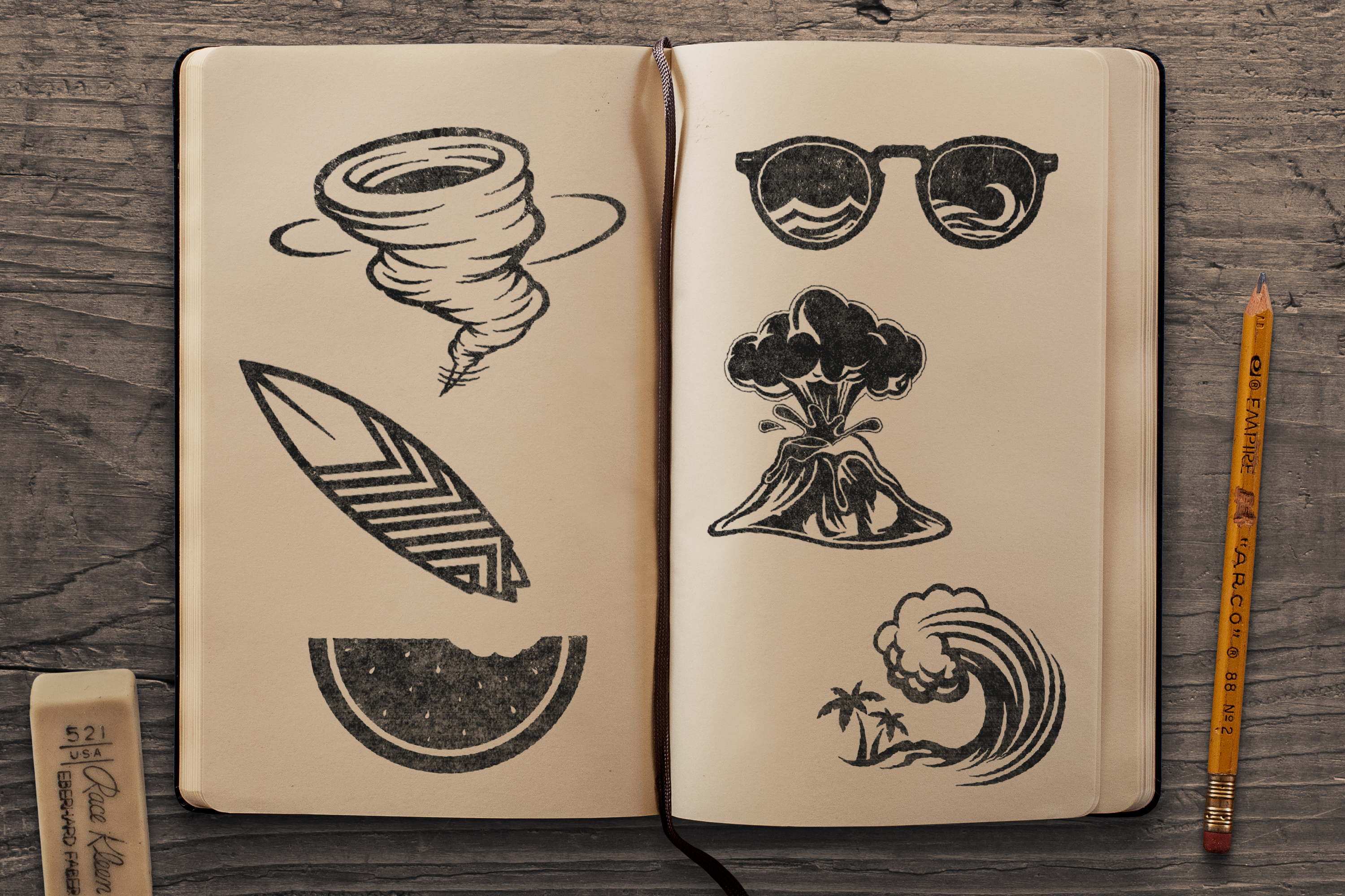 Sketchbook Mockup 2