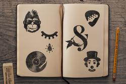 Sketchbook Mockup 4