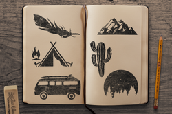 Sketchbook Mockup 1