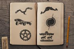 Sketchbook Mockup 6