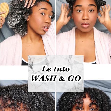 @itscrazysally : TUTO WASH & GO POUR LES NULS 👌🏾