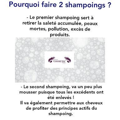 @djennie.cosmeticnature: Pourquoi faire 2 shampoings