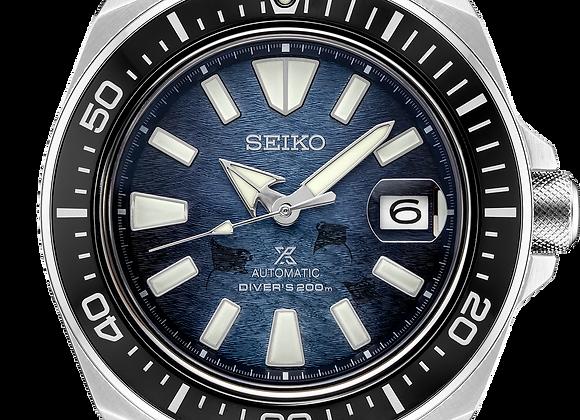 "Seiko Prospex SRPF79 Save the Ocean ""Dark Manta"" Samurai"