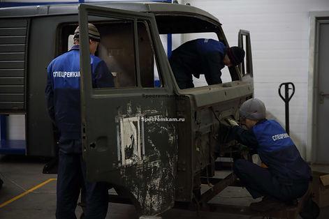 Alt-дефектовка кабины КамАЗ, ремонт кабины КамАЗ в Набережных Челнах.