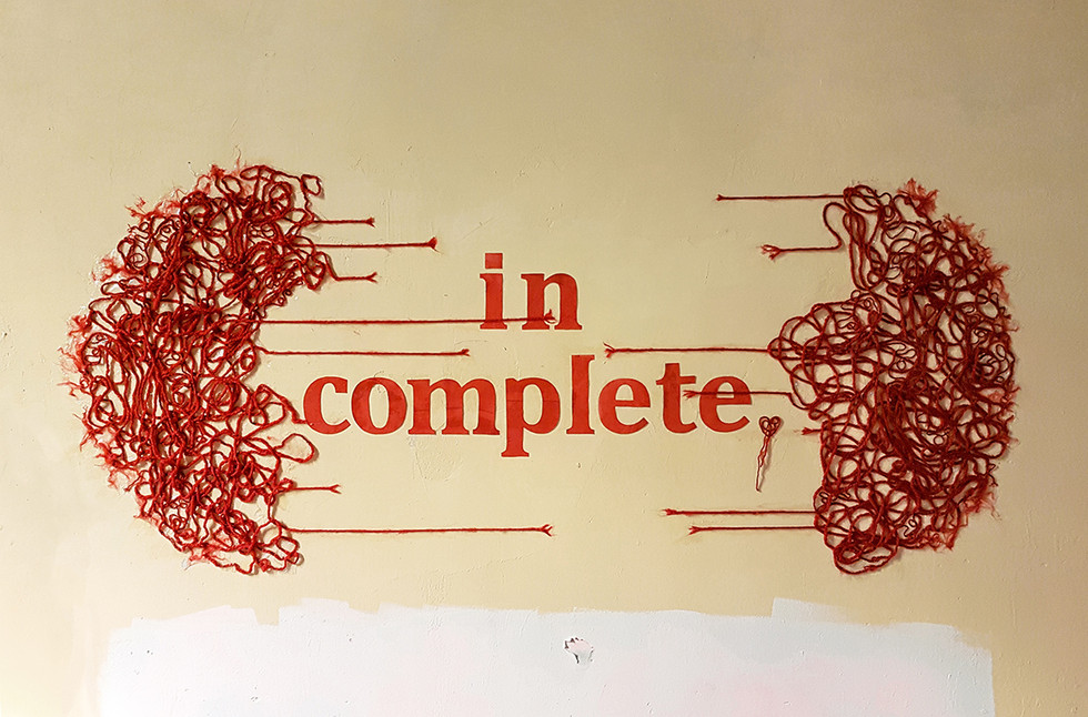 in complete, incomplete