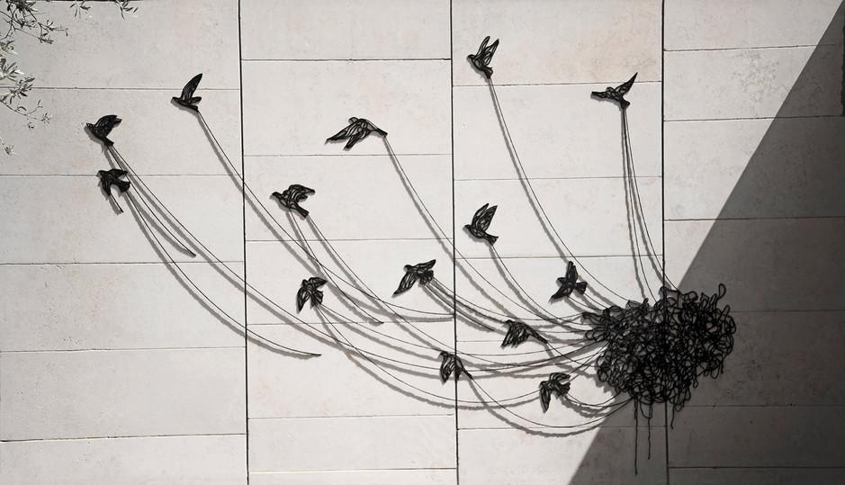 Black Birds, Israel Museum, Jerusalem