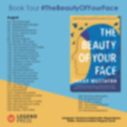 The Beauty of Your Face Book Tour Banner