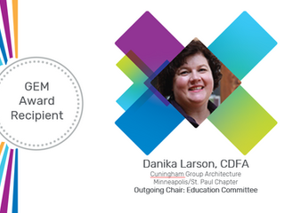 Danika Larson, GEM Award recipient