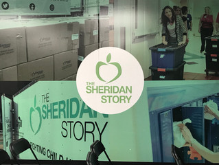 SDA volunteers at The Sheridan Story.