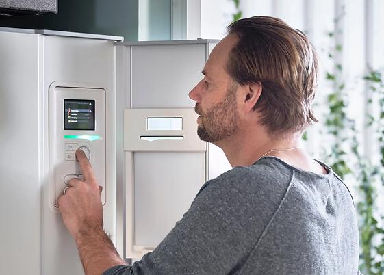 nibe ctc thermia frånluft tilluft värmepumpar instalatör service