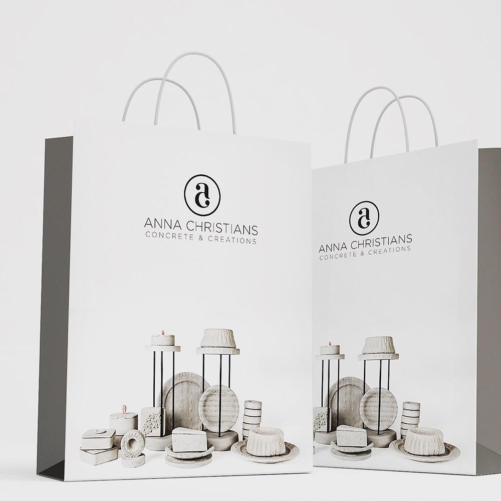 Anna Cristians Concrete & Creation (logo, branding)