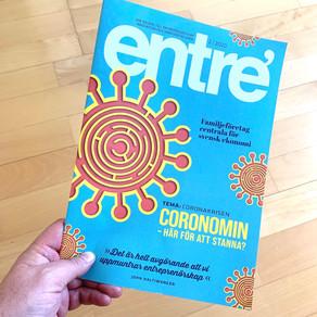 Idag kom nyaste numret av tidningen Entré