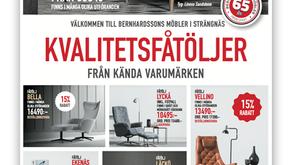 New Client! Bernhardssons Möbler in Strängnäs