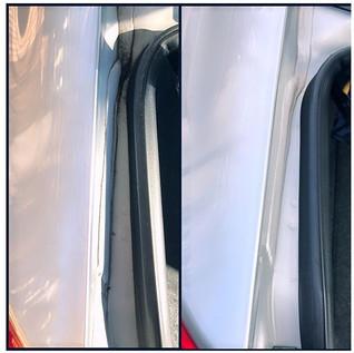 Every detail is important! 👆👀 ( Honda Civic 2013 )_#trunkjambs #doorjambs #avantgardeautodetailing #carwash #detailing #mobile #beforeandaft