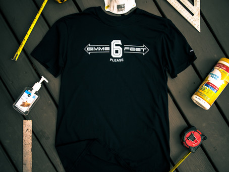 Remind People to Social Distance with a T-Shirt