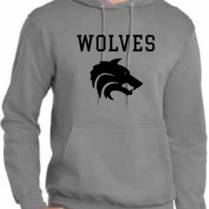 Grey WOLVES Hoodie
