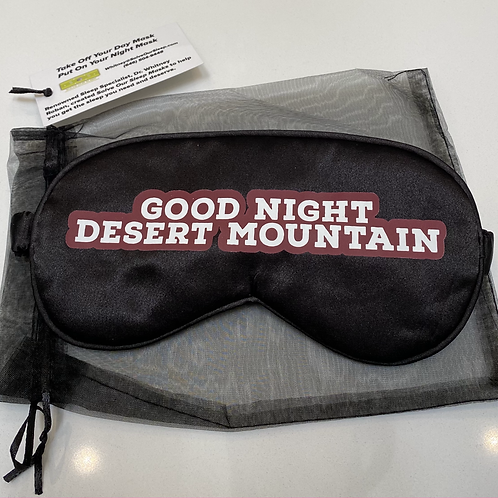 Desert Mountain Sleep Mask