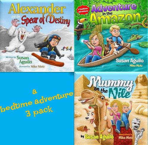 3 Pack Book Series