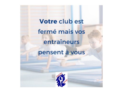 COVID 19 – Suspension des activités / Suspension of activities