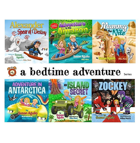 6 Pack Book Series