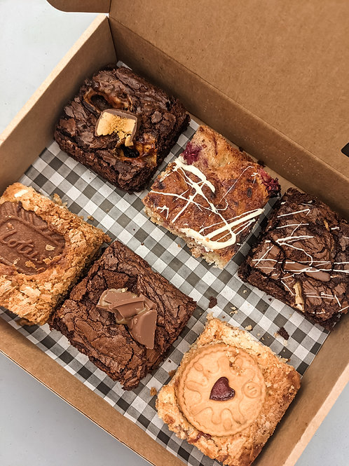 Fathers day POSTAL mixed brownie box