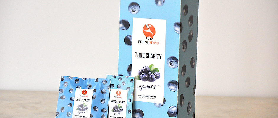 True Clarity Daily Supplement - Blueberry