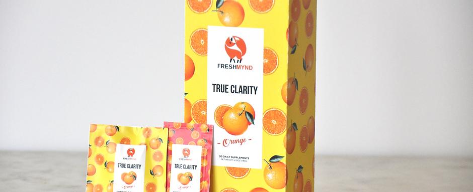 True Clarity Daily Supplement - Orange