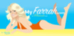 Farrah Fawcett by Alejandro Mogollo