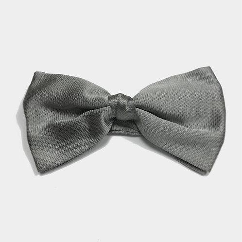 Silver Wedding Bow tie