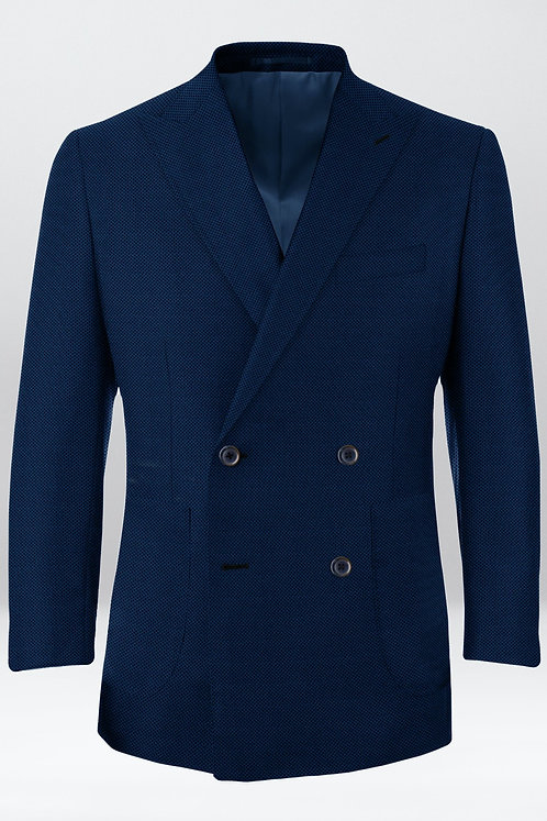 DB Jacket /  Blue Hopsack