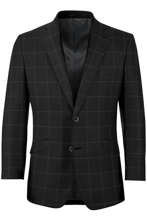 Dark Gray Window Pane suit