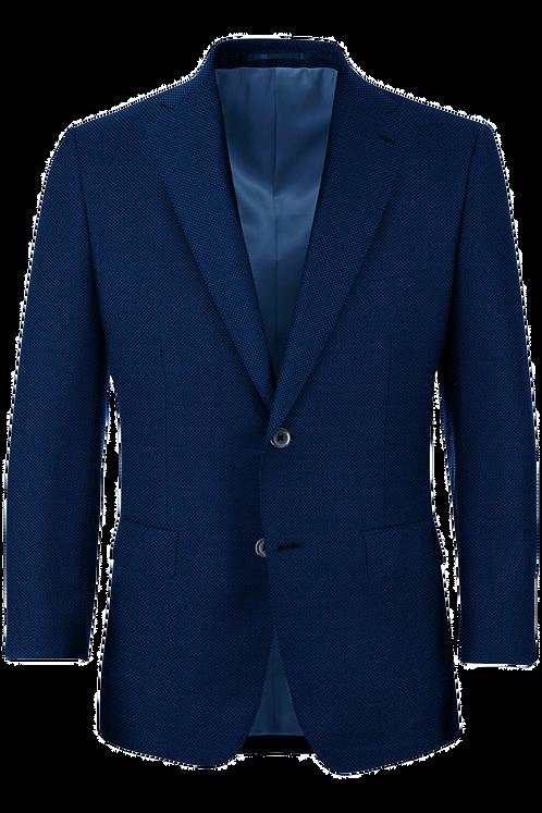 Blue Hopsack Suit