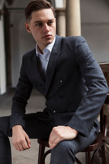 Modern businessman. Confident young man