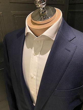 Henricks Navy birds eye suit.jpg