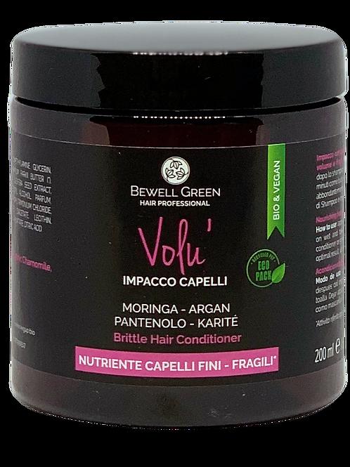 VOLU'- Thin Hair Volume Hair Mask  200ml  (BeWell)