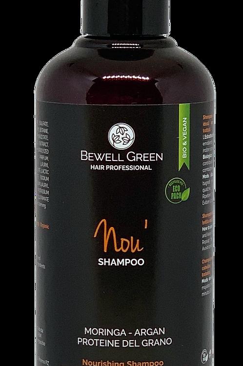 NOU'- Disciplining Nourishing Shampoo  200ml  (BeWell)