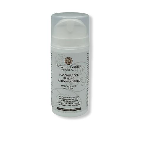 Máscara de gel peeling de ácido mandélico 100 ml - pele propensa a acne (BeWell)