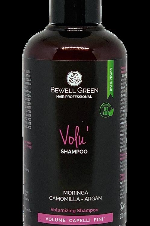 VOLU'- Thin Hair Volume Shampoo  200ml  (BeWell)