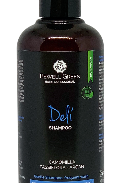 DELI'- Gentle shampoo for frequent washing  200ml  (BeWell)