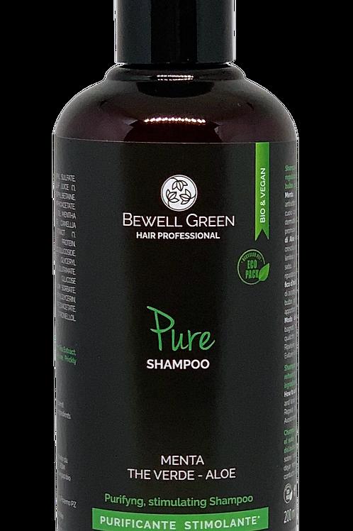 PURE - Stimulating Purifying Shampoo  200ml  (BeWell)