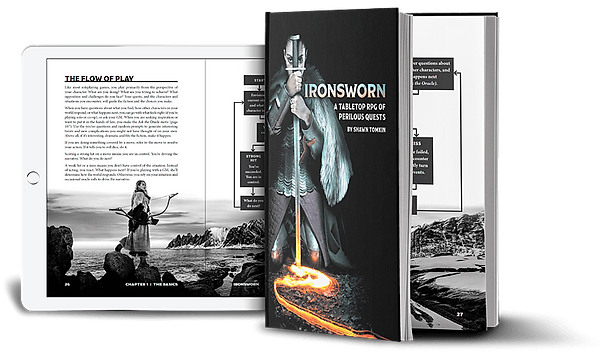 Get Ironsworn in Digital and Print