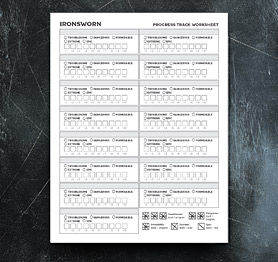 Progress Track Worksheet