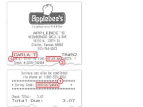 TalktoApplebees  AppleBees Guest Survey Guide Win Coupon