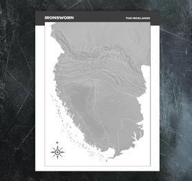 Ironlands Blank Map