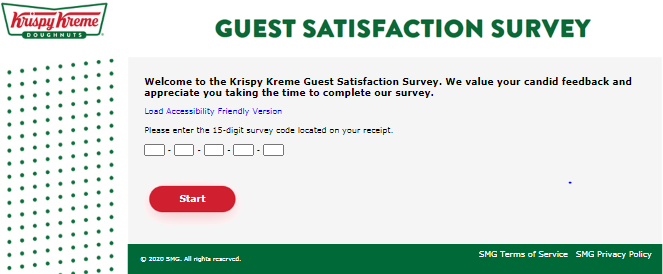 Win a $500 BJ's gift card Now   Krispy Kreme Guest Satisfaction Survey
