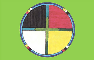 Circle on Green Background.png