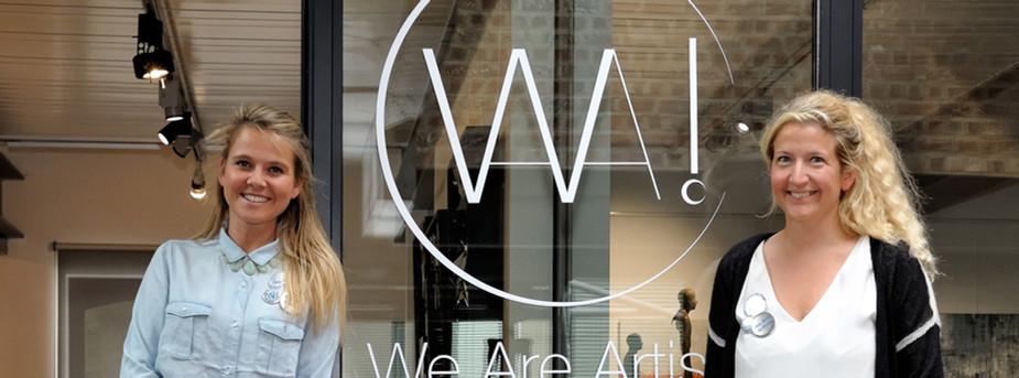 1.Les fondatrices de WAA! et artistes Is