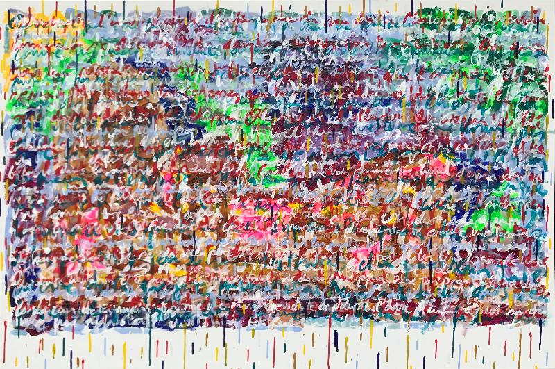 Pygmalion, acrylique sur toile,  100x150 copie